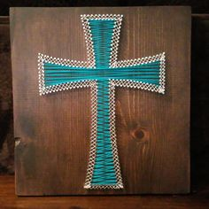 Custom Made Nail and String Art Plaques by IHeartStrings on Etsy