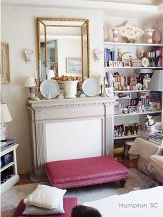 Antique Vintige Beautiful Ghosts In Bedroom Mirror Photo Reprint Pic P5