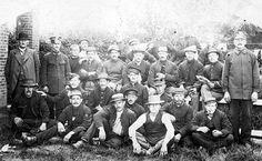 Cloppenburg 1915/1916, Belgische burgers + militairen & Duitse kampwachters | Flickr - Photo Sharing!