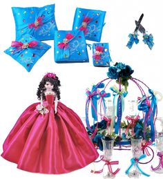 religious gifts for quinceanera | Quinceanera Jewel Package #QSP113 - Quinceanera Accessories Packages