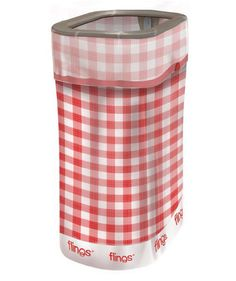 Flings Bins Pop Up Picnic | From red, white, and blue paper straws to old-fashioned hot dog trays, these party goods will turn your backyard barbecue into a full-blown Independence Day celebration.