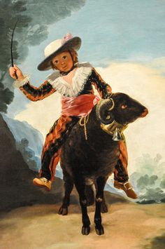 All sizes | Francisco Goya (Francisco Jose de Goya y Lucientes) - Boy on a Ram, 1787 at Art Institute of Chicago IL | Flickr - Photo Sharing...