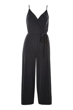 045c7bf883b Strappy Wrap Jumpsuit with a turtle neck Wrap Jumpsuit