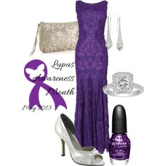 lupus benefit event by tanya-misener on Polyvore