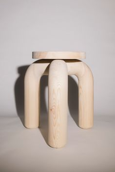 Studio Sløyd developed a collection of chunky pine chairs to demonstrate a contemporary take on a wood it feels is unfairly neglected. Pine Furniture, Furniture Making, Furniture Decor, Modern Furniture, Furniture Design, Futuristic Furniture, Plywood Furniture, Pine Chairs, Eclectic Chairs