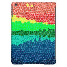 Abstract Mosaic | Sunset on Tropical Island.  | Your Custom iPad Case for iPad Air, iPad 2/3/4, iPad mini