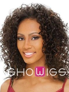 Shaggy 14Inch Curly Synthetic Lace Front Wig http://www.ishowigs.com/shaggy-14inch-curly-synthetic-lace-front-wig-aa40351.html