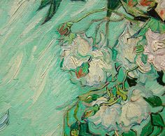 Van Gogh, White Roses #art