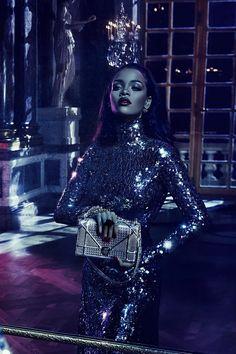 """Rihanna for """"Dior Secret Garden"""" Campaign. (2015)"""