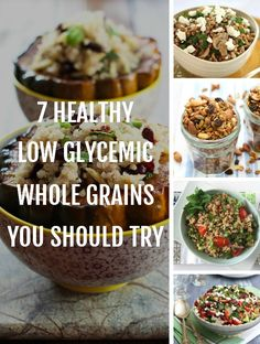 This list features low glycemic whole grains I use regularly in my cooking. I hope it will help you discover new healthy whole grains for your pantry.