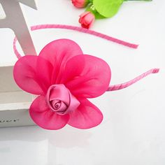 Boutique Flower Hairbands by Kidz Outfitters