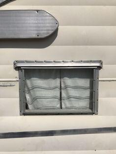 Jalousie Windows and Parts for Vintage Campers. Where to find parts and jalousie windows for your vintage trailer.