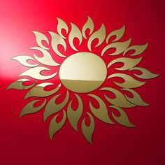 3D Wall Sticker Living Room Ideas Acrylic Mirror Effect Home Decor Elegant US #TonkhaoshopOEM #ArtsCraftsMissionStyle