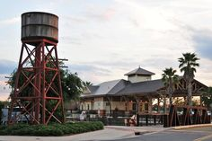 """The Villages (Florida) Photos: Train station at Sumter Landing This is another """"Disney"""" touch. There are no trains. One can't have a """"hometown,"""" however, without a train station. Ergo, the folks in charge built an """"old"""" train station. It's very nice, though."""