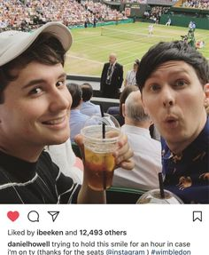 If they were on tv during Wimbledon, I would have screamed and my family would have been worried