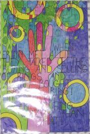 6th grade art...poetry embedded