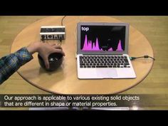 Touch & Activate: Adding Interactivity to Existing Objects using Active Acoustic Sensing (UIST2013) - YouTube