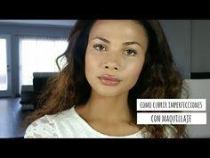 Como cubrir granitos, cicatricez, ojeras e imperfecciones con maquillaje - YouTube
