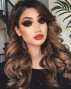 "68.5k Likes, 899 Comments - ALINA (@makeupbyalinna) on Instagram: ""Thank you so much for all the positive feedback on this look ❤️ Details: @hudabeauty Rose gold…"""