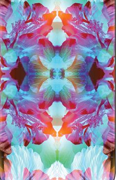 mirror tropical-totally not a galaxy but hella cool idea Illustrations, Illustration Art, Textures Patterns, Print Patterns, Pattern Art, Pattern Design, Tropical Art, Motif Floral, Textile Prints