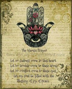 Hamsa Prayer ..*                                                                                                                                                     More