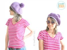 FREE for a limited time! Crochet beret pattern by IraRott. Offer expires July 17, 2016 at 23:59 (EST).