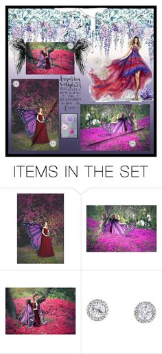 """""""purple dream"""" by ghenwahaddad ❤ liked on Polyvore featuring art"""