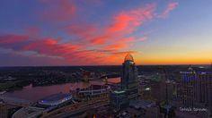 The Ohio River & Cincinnati Ohio 2016 ❤❤