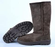 Uggs Chocolate Boots-as a pregnant woman i definitely think i need these! :)