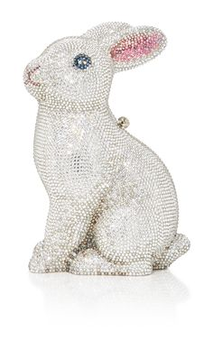 Ava Bunny Clutch by JUDITH LEIBER COUTURE for Preorder on Moda Operandi