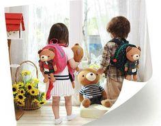 New Cute Animal Toddler Children School Bags Cartoon Backpack Kids School Bag