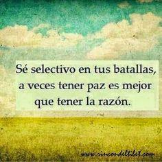 """""""Es mejor tener paz que tener razón..."""" y #BuenDía  #FraseDelDía #ElAquelarre #Consejos #gente #vida #conflicto #bruja #brujareal #Venezuela"""