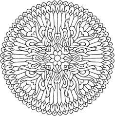 creative haven magical mandalas coloring book by the illustrator of the mystical mandala coloring book - Intricate Mandalas Coloring Pages