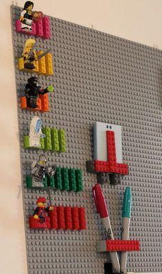 10 Most Beautiful Scrum Boards Ever Created - Kinderzimmer Lego Office, Lego Desk, Lego Room Decor, Baby Room Decor, Kanban Board, Scrum Board, Lego Wall Art, Kanban Crafts, Lego Decorations