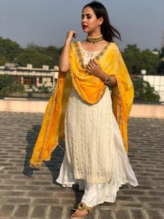 My favourite ❤ Party Wear Indian Dresses, Designer Party Wear Dresses, Indian Gowns Dresses, Kurti Designs Party Wear, Indian Fashion Dresses, Dress Indian Style, Fashion Outfits, Indian Skirt, Punjabi Fashion
