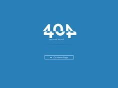 404 Not Found Page on Behance