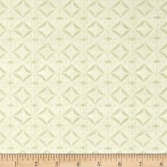 Indigo Nature Diamonds Cream from @fabricdotcom  Designed by Daphne B. and licensed to Wilmington Prints, this cotton print is perfect for quilting, apparel and home decor accents. Colors include cream and beige.