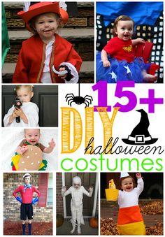 15  DIY Halloween Costumes at GingerSnapCrafts.com
