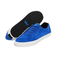 Supra Cuttler Low Men s Skate Shoes - Royal Blue  Suede White 80eb42e66