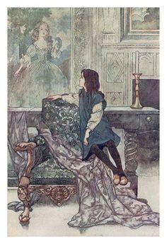 Burrowed. | I'm reading The Secret Garden. The illustrations...