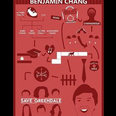 I wanted to try and make a infographic so here is one about Ben Chang from Community. I tried to focus on pallete and layout but feel I let myself down in that regard. #design #graphicdesign #digitalart #graphics #art #infographic #benchang #community #greendale #6seasonsandamovie #chang #colour #infographicart #illustrator