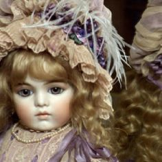 Bru Jne 13  Hand made antique reproduction  By Mary Benner