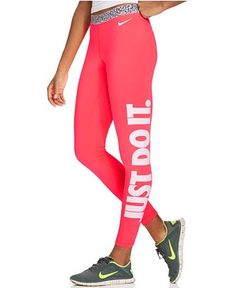 Nike Pro Hyperwarm Mezzo Active Leggings - Activewear - Women - Macy's