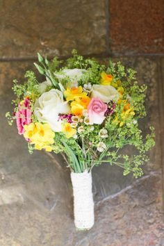 English spring wedding bouquet from Love My Dress