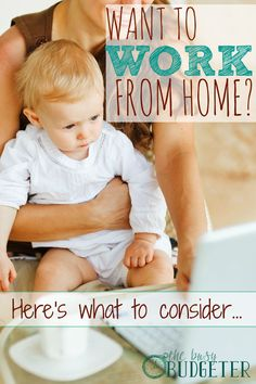 Want to work from home? Here's what to consider... This is so spot on! As someone who works from home, I completely agree. I wish I had read this before I started my business!