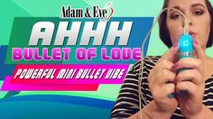 https://www.youtube.com/watch?v=k9Ps83leGpk  http://AdamAndEve.com use coupon code SCORE50 to enjoy 50% discount, FREE 3 Hot DVDs and a bonus of FREE gift plus FREE shipping when you order at Adam and Eve.  Ahhh Bullet of Love Vibrator is the most versatile bullet sex toy you can ever play with your partner. It may just be a mini vibrator but it has powerful vibrations that would give yourself or your partner a very stimulating sex play.