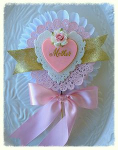 Mother's Day Decoration Beautiful Shabby Chic Mother Wand for Mother's Day Decoration or Cake Topper Table Decoration TVAT