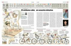 Infographic and editorial design from the El Correo's newsroom