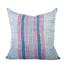 Handwoven Hmong Indigo Pillow P7071 www.houseofcindy.com