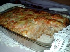 The divinely perfect stuffed peppers in any case have to create style :) Baked Rolls, Veggie Side Dishes, Hungarian Recipes, Meatloaf, Cake Cookies, Lasagna, Banana Bread, Bacon, Food And Drink